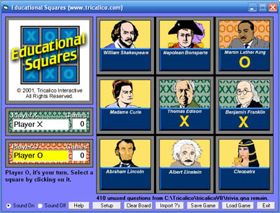 Educational Squares screenshot